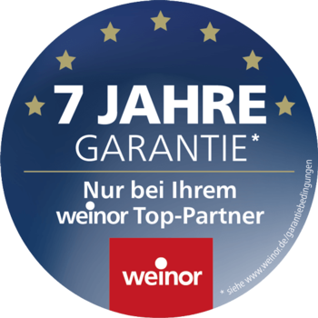 7 Jahre Garantie Logo
