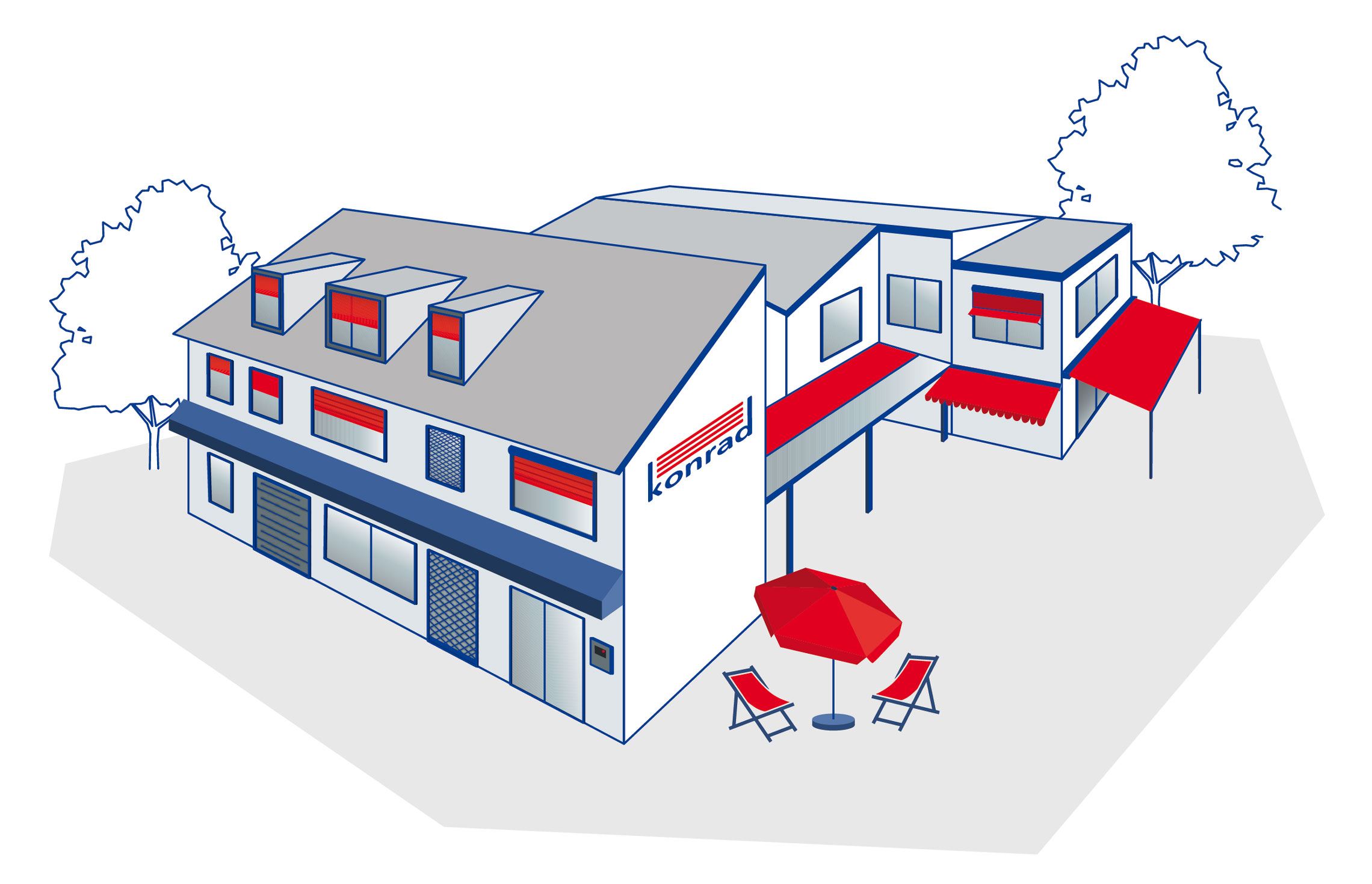 Ihr Spezialist für Rollladen, Markisen, Terrassendächer, Fenster und Einbruchschutz